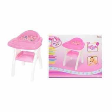 Babypop kinderstoeltje 44 cm poppen accessoires