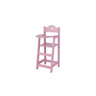 Roze poppen stoeltje 52,5 cm